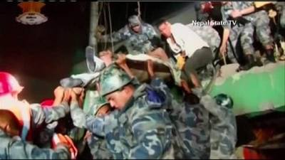 News video: Nepal Quake